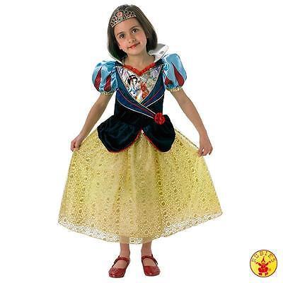 IAL Disney Kinder Kostüm Snow White Schneewittchen Prinzessin Shimmer
