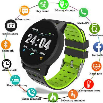 Sport Armband (IP67 Wasserdicht Smartwatch Sports Uhr Pulsuhr Blutdruck Fitness Tracker Armband)