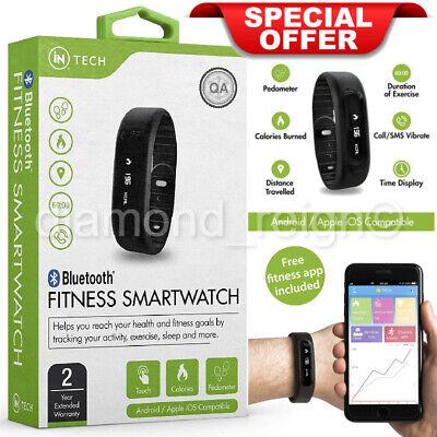 Smart Watch Bluetooth Sport Fitness Health Sleep Tracker Pedometer Android iOS