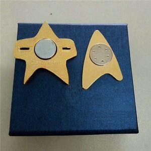 NEW Star Trek Badge Voyager Communicator Starfleet Badge Handmade Pin Brooch