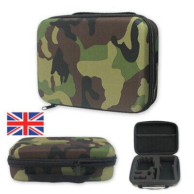 Waterproof Carrying Hard Case Storage Bag Box Camo For GoPro Hero 8 7 6 5 Black