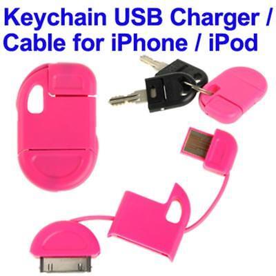 Llavero Cargador USB X IPHONE 4 Y 4S, IPHONE 3GS/3G, IPAD 2/IPAD Mini