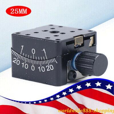 Pt-sd304 Manual Goniometer Stage Dovetail Platform Optical Sliding Table 25mm Us