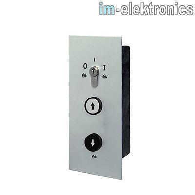 UP Unterputz Schlüsseltaster Schlüsselschalter geba MSR 1-2T Tor Sektionaltor