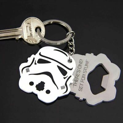 Star Wars Stormtrooper Bottle Opener Keyring Keychain - Metal Disney Gift