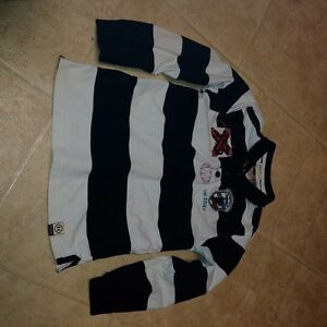 Polo Style HATLEY Boys Size 7 Long Sleeve Rugby Shirt