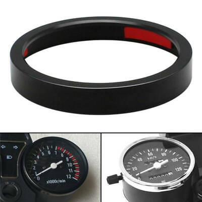 Black Speedometer Gauge Accent Trim Ring Cover for Harley XL883 1200 X48 72 GL