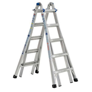 21ft Vulcan multi-purpose ladder, lightly used indoors, $125