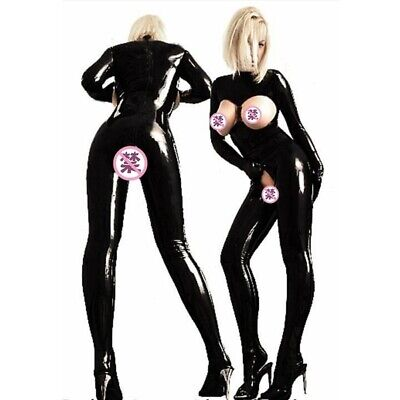 Women's Sex Fancy Suit Costume Hollow Out Garment Latex Leather Catsuit Cosplay](Catsuit Costumes)