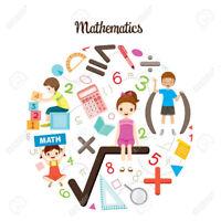 Tuteur mathématiques primaire  et soutien scolaire