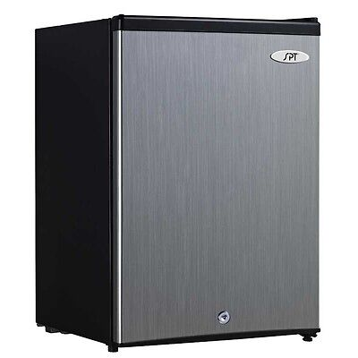 ديب فريزر جديد Sunpentown Uf-214ss 2.1 Cu.ft. Upright Freezer With Energy Star Stainless Steel