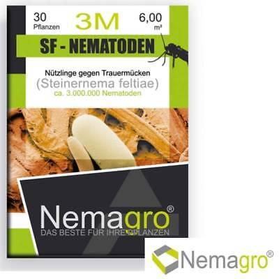 Nemagro® SF-Nematoden M3 - 3mio für bis zu 30 Pflanzen