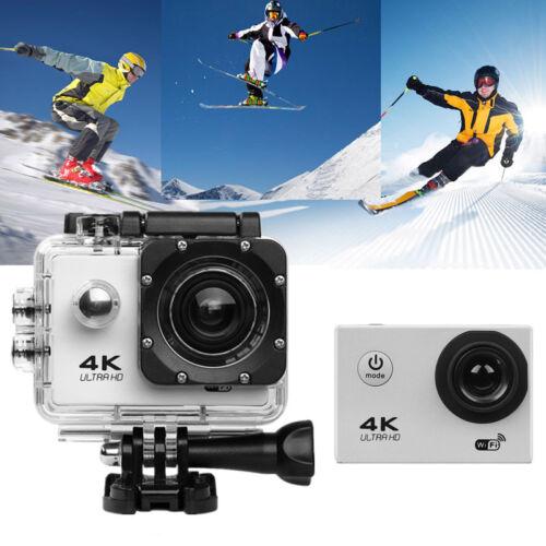 Ultra 4k 1080p Dvr Dual Screen 2'' Sports Camera Hd Wifi Cam Dv Action Camcorder