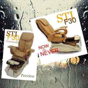 Salon furniture and Pipeless pedicure spa chair, Bench style