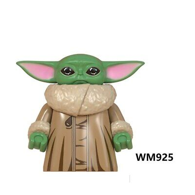 Single Star Wars Baby Yoda Models Building Block Figures Toys For Children