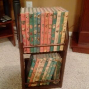 Vintage Childrens Stories with stand