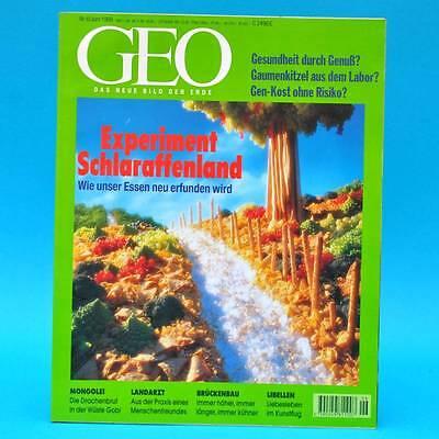 GEO Magazin 6/1998 Landarzt Aktion Hainich Libellen Brückenbau Saurier Gobi