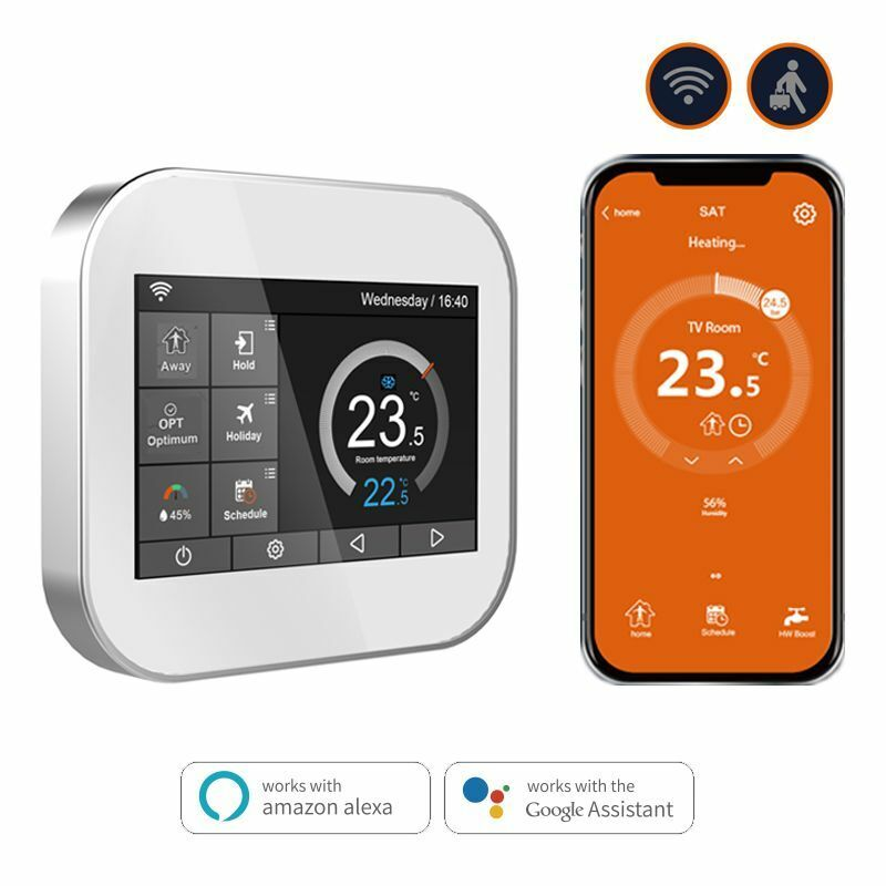 smart thermostat temperature controller heating water gas