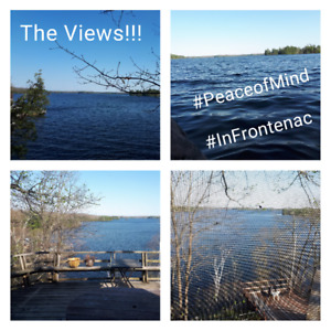 Private & Warm Bobs Lake Cottage +Bunkhouse FALL SPECIALS