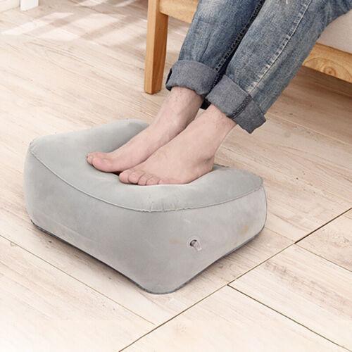 Inflatable Travel Footrest Pillow Foot Leg Rest Travel Pillo
