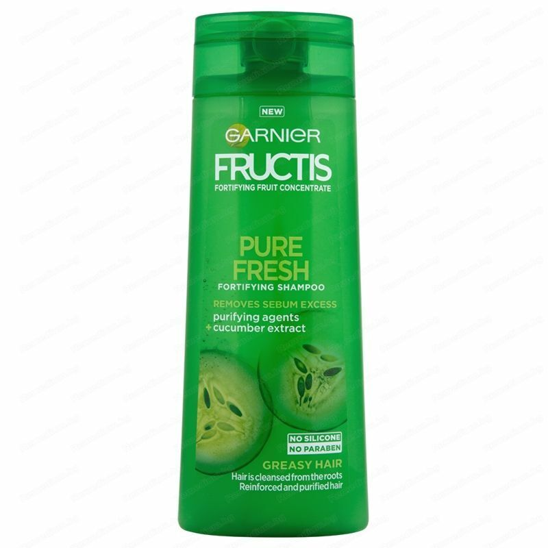 Details about Garnier Fructis Shampoo Fortifying Cucumber Extract Pure  Fresh Hair *Choose Size
