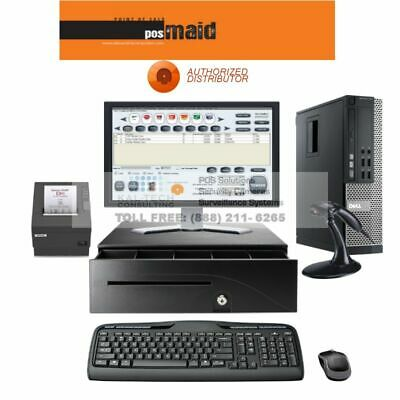 Dell Pos Retail Point Of Sale System Pos System For Retial Stores - 4gb Ram