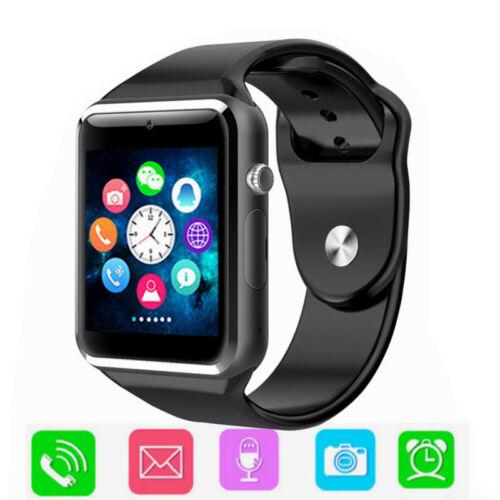 A1 W8 Smart Wrist Watch Bluetooth GSM Phone Camera Sleep Mon