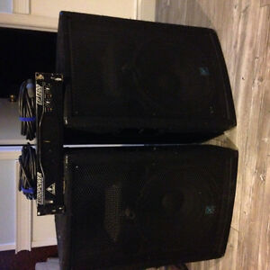 2 Yorkville Speakers YX15 $500 for the pair