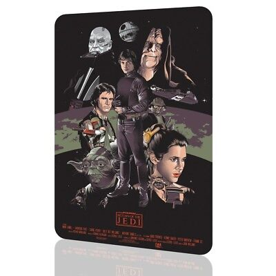 METAL SIGN STAR WARS Return Of The Jedi Poster Collectors 01 Exclusive Decor