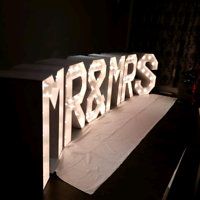 Marquee letters for rent only $50