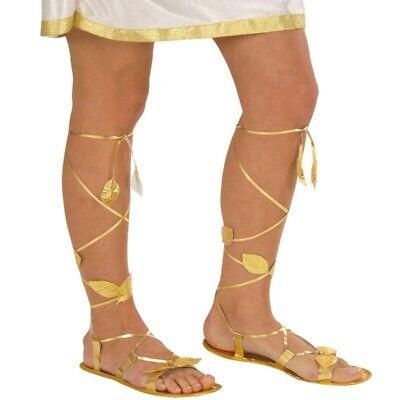 Römersandalen Damen Antike Sandalen Römer gold Römerin Schuhe Griechin - Kostüm Sandale