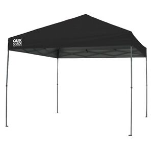 Quik Shade Instant Canopy 10x10 - Black, New
