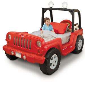 ***Jeep Wrangler Toddler to Twin Bed*** AS NEW