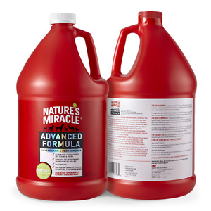 NATURE'S MIRACLE Advanced Formula Pet Stain & Odor Remover