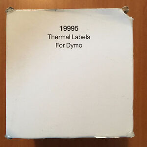 19995 THERMAL LABELS FOR DYMO