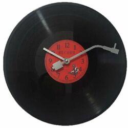 Vinyl Record Wall Clock Home Decor Quiet Retro Decoration Birthday Gift Vintage
