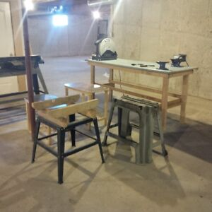 Assorted workbenches/stands - $20 to $60 OBO