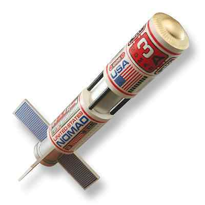 CUSTOM NOMAD Flying Model Rocket Kit - 10054 - Skill Level 3 3 Model Rocket Kit