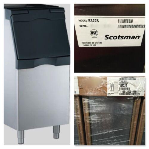 "Scotsman B322S Storage Ice BIN 370lb Capacity 22""Wx34""Dx50""H Stainless"