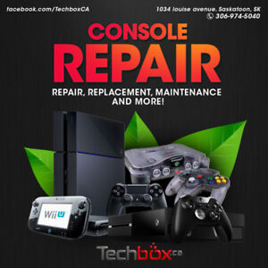 Console repair and services - HDMI port, fan replacement & more!
