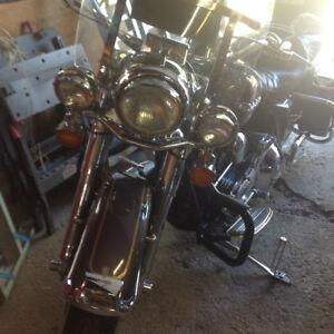 2002 HD Road King standard, custom bike