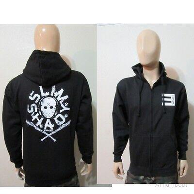 Spiked Bat Eminem  Zip Up Hoodie  Slim Shady Rap God Detroit Vs Everybody Nwa