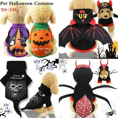 Halloween Bat Wings For Small Pet Dog Cat Puppy Costume Funny Cosplay Dress-up