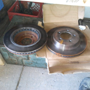 Front rotors off 2003 ford explorer