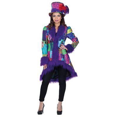 Mola 118230 Clown Frack Jacke Harlekin Direktor Zirkus Karneval Damen Kostüm - Damen Zirkusdirektor Kostüm