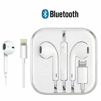 Lightning Earphones With Mic Bluetooth headphones Pop-Up For iPhone 7 8 X XR SE