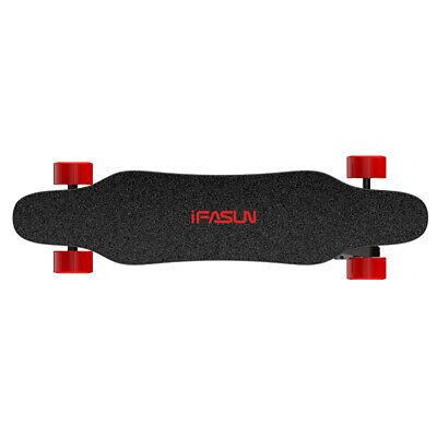 IFASUN Electric Skateboard 38inch, Remote +APP 21.7 MPH 680W x 2 Dual Motor 001