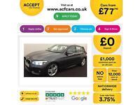 Grey BMW 116d M Sport 5 door Alloys Manual 85MPG FROM £77 PER WEEK!
