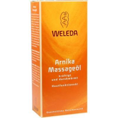 WELEDA Arnika Massageöl    - 200 ml -     PZN357995