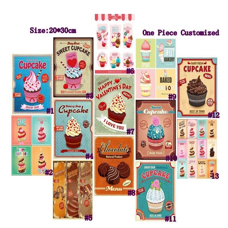 Circle Muffin Tin Vintage Tin  Bakery Bistro Decor Vintage Bakeware  Retro Cookware  Shabby Chic Decor Country Decor